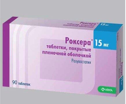 роксера препарат от холестерина